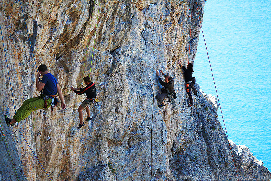 Climbing vacations with MCS AlexClimb rockclimbing School in Greece - Kalymnos