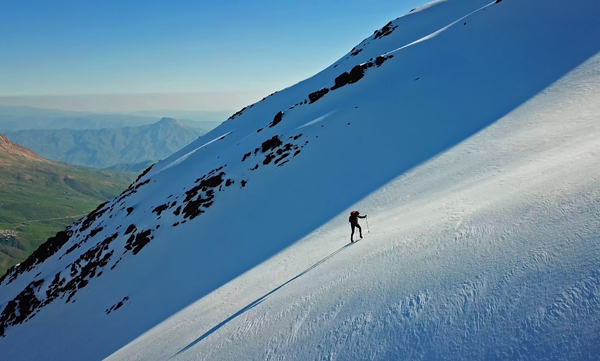 Alone in the mountains - solo ascents