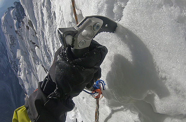 Mountaineering tactics