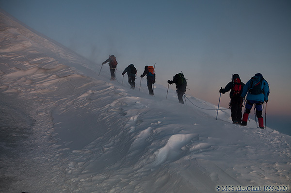 Difficulties of climbing Elbrus